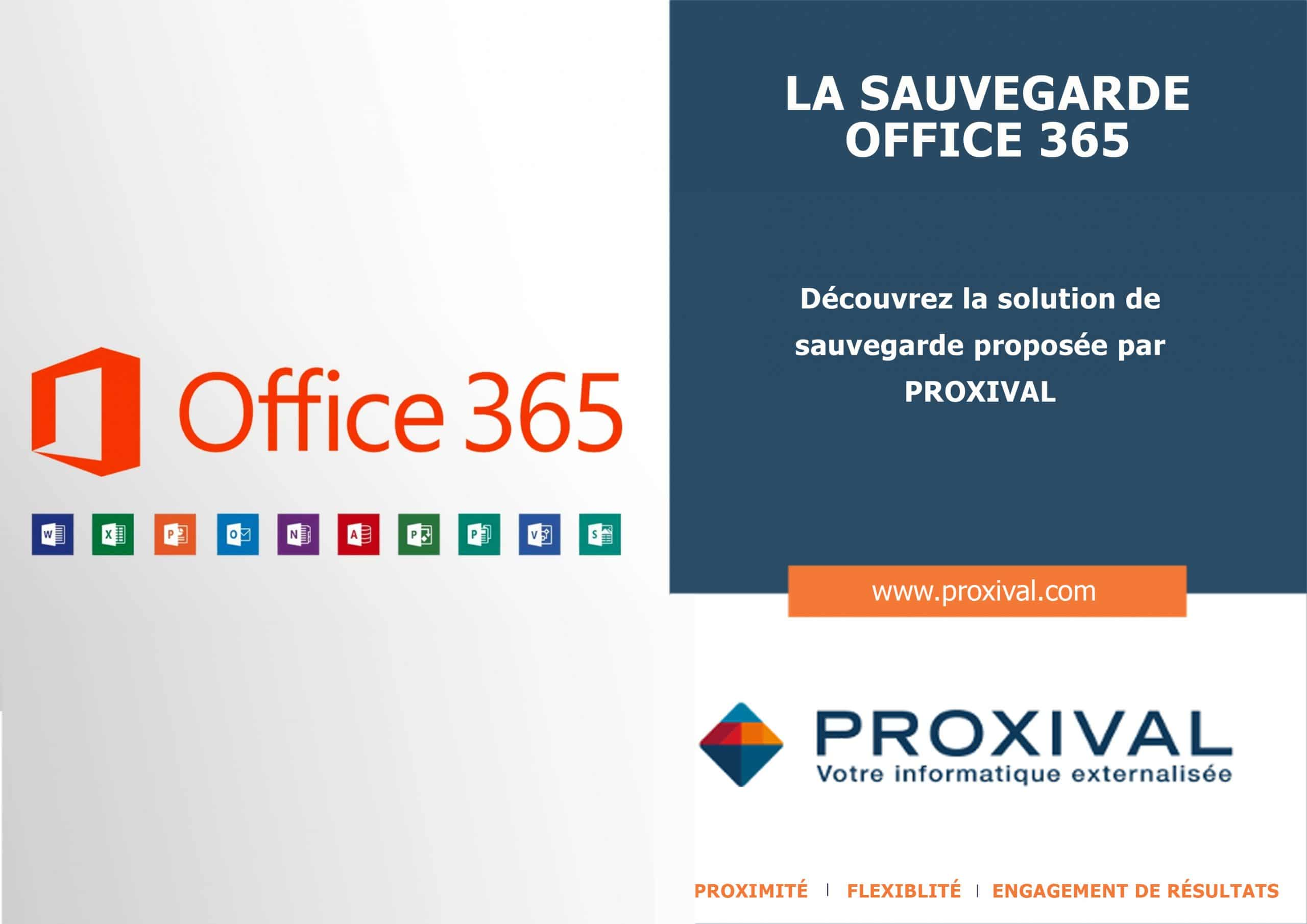 Sauvegarde Office 365